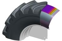 Standard tyre: internal resistance